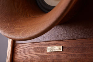 RDacoustic Evolution speakers front Horn Oris500 speaker driver Voxativ AC1.8 wooden cone
