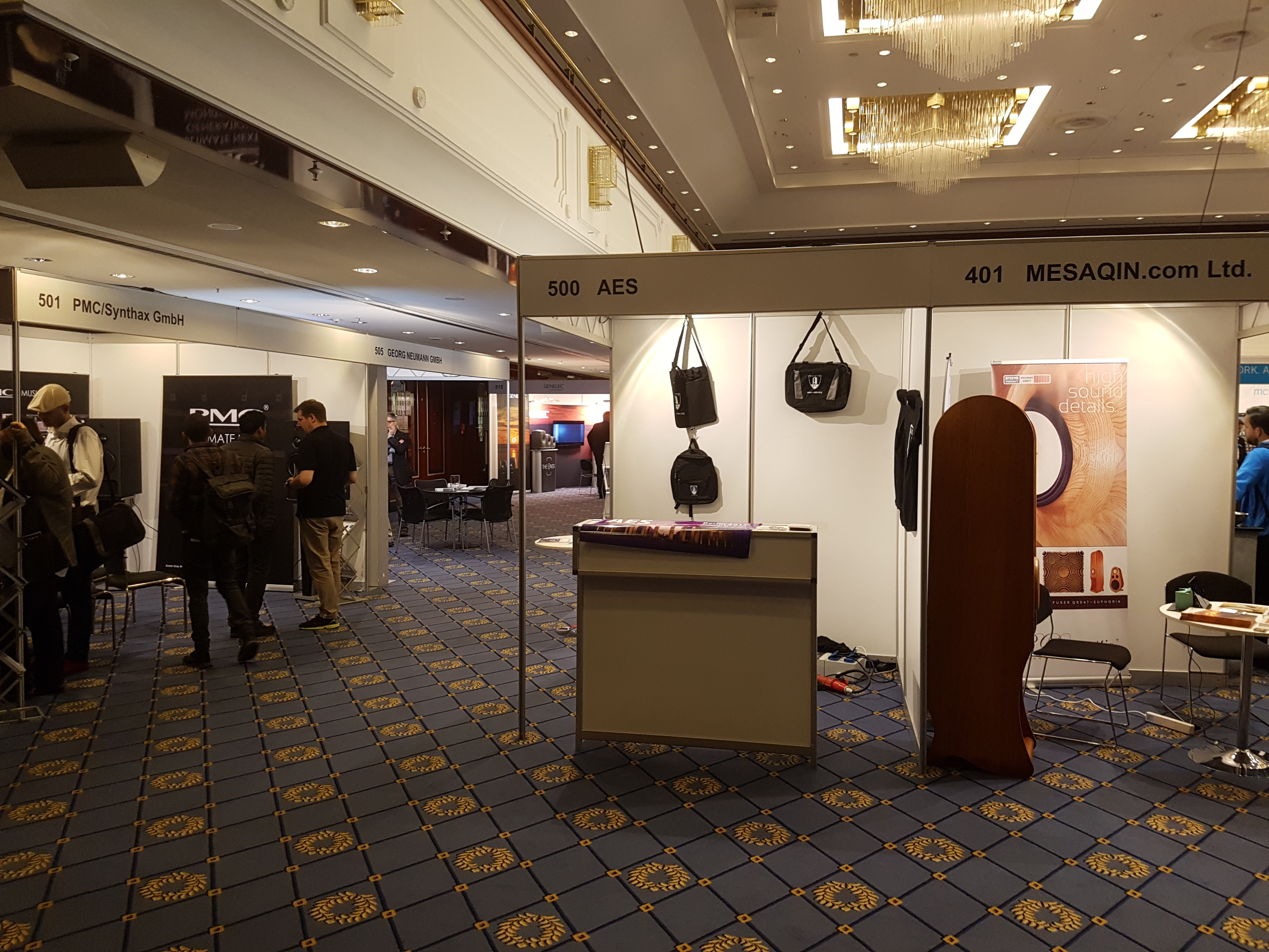 High End loudspeakers Evolution in AES Berlin Exhibition