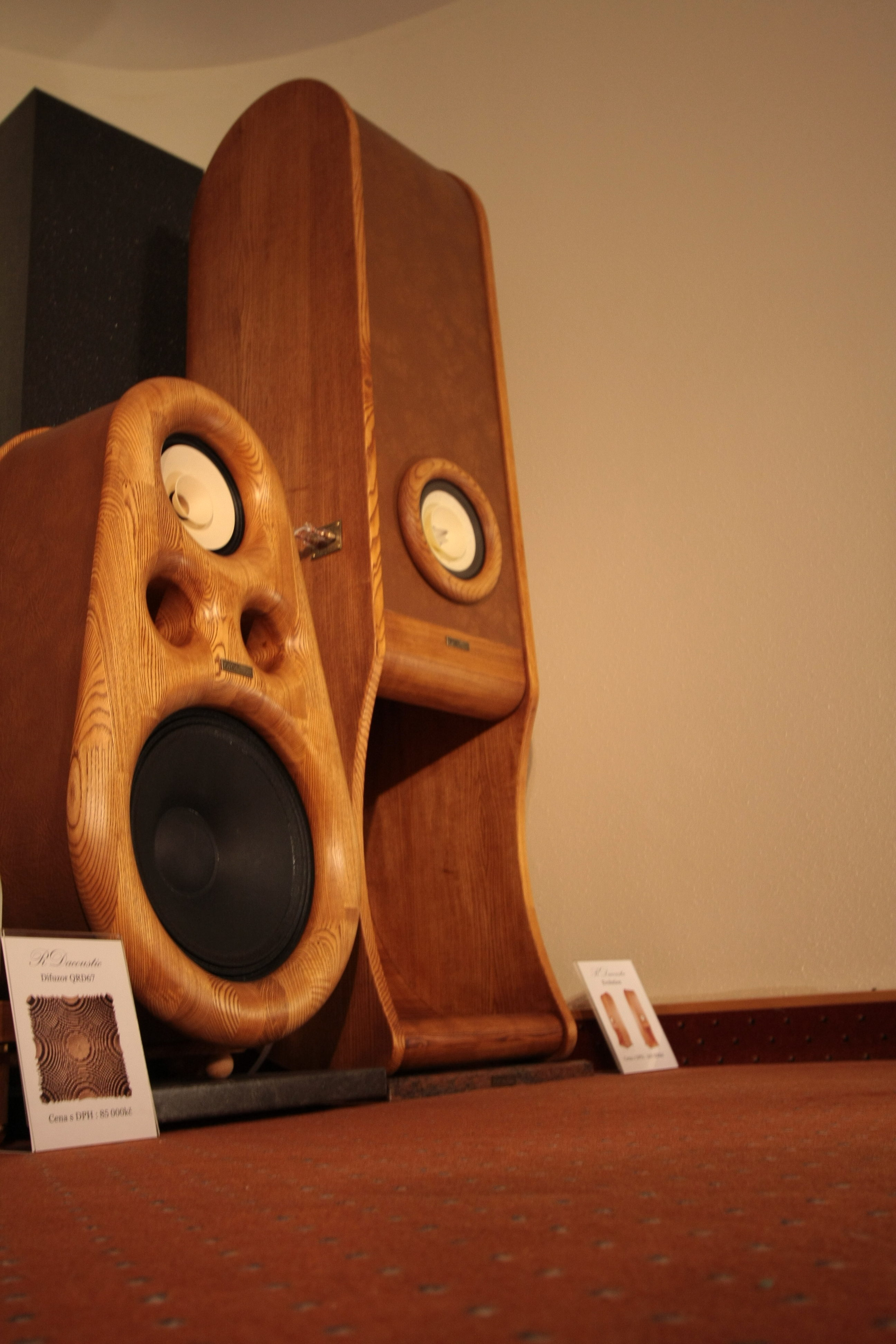 High End speakers Euphoria, Evolution for true HIFI stereo, acoustic Diffuser, HIFI, audio
