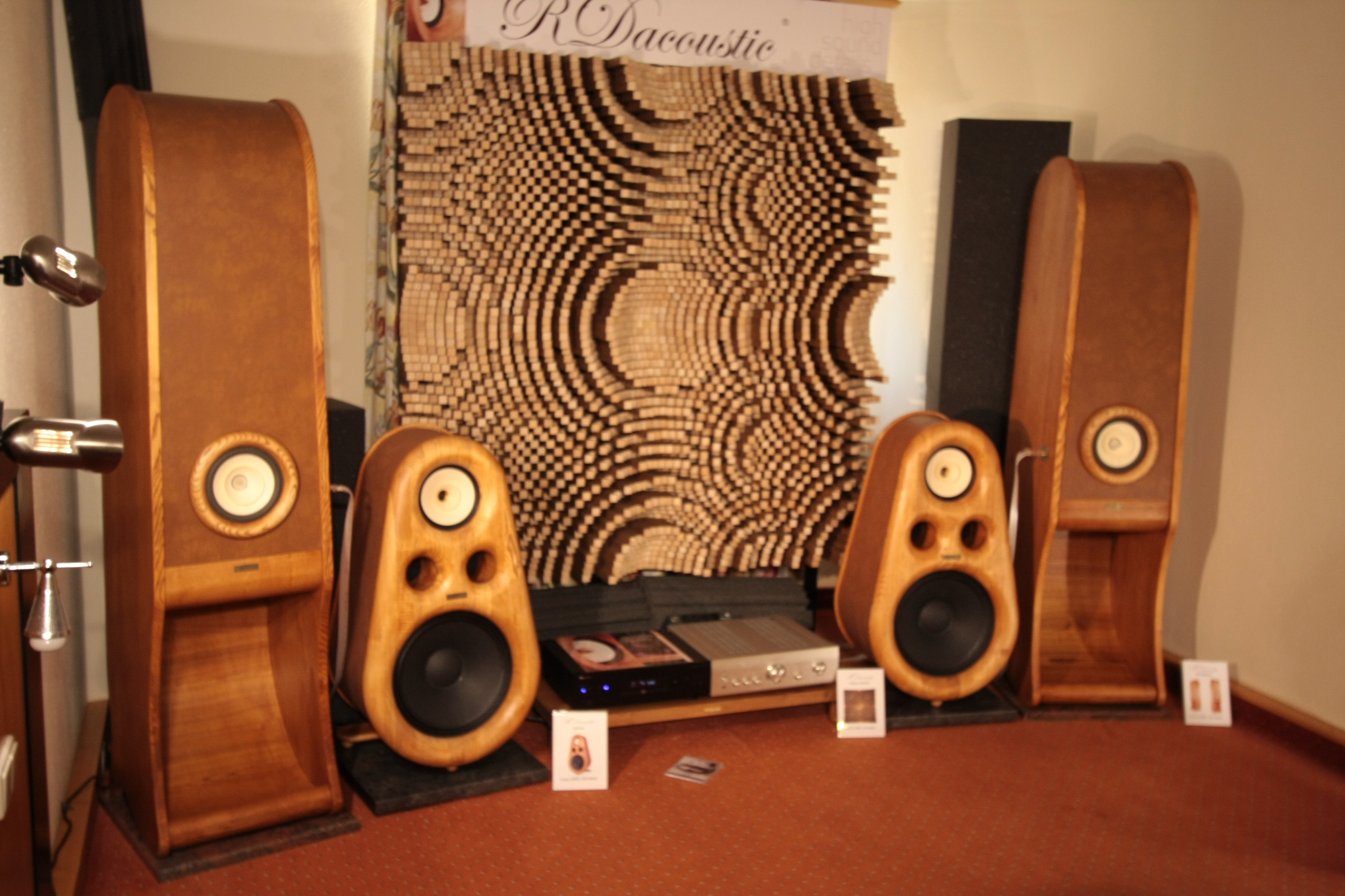 High End speakers Evolution, Euphoria for true HIFI stereo, acoustic Diffuser, HIFI, audio