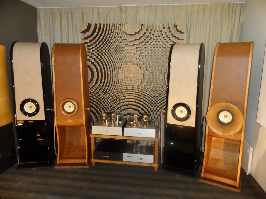High end speakers Evolution for true stereo, Lampizator, acoustic Diffuser, HIFI