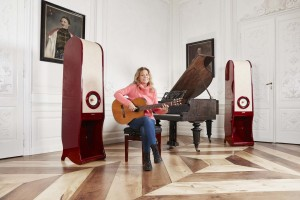 RDacoustic Evolution speakers Lenka Filipova Lesna castle Czech republic