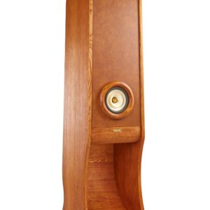 HIFI stereo speakers Evolution, real wood variant. Home audio for audiophiles.