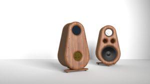 Reproduktorové soustavy Euphoria RDacoustic stereo 2.0 surround 7.1, 5.1 2x render hnědá