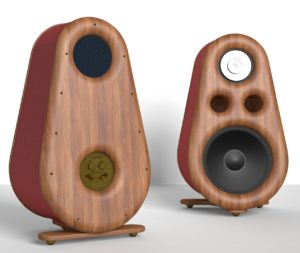 RDacoustic Euphoria speakers fullrange, bass speaker, stereo 2.0 surround 5.1, 7.1