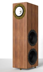 RDacoustic speakers Viruoso fullrange + 2 bass speaker drivers